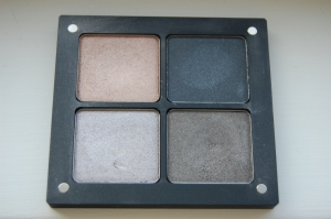 Inglot  4 quad square eyeshadows